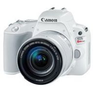 Adorama Canon EOS Rebel SL2 DSLR with EF-S 18-55mm f/4-5.6 IS STM Lens - White 2252C001