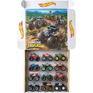 [아마존베스트]Hot Wheels Monster Trucks Ultimate Chaos 12 Pack, 1: 64 Vehicles [Amazon Exclusive]