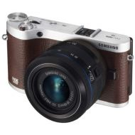 Samsung NX300 20.3MP CMOS Smart WiFi Mirrorless Digital Camera with 20-50mm Lens and 3.3 AMOLED Touch Screen (White)